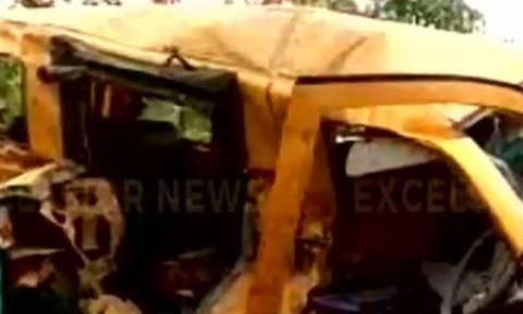 Ασύλληπτη τραγωδία με μαθητές: Σχολικό λεωφορείο συγκρούστηκε με τρένο – 13 παιδιά νεκρά (vid-pics)