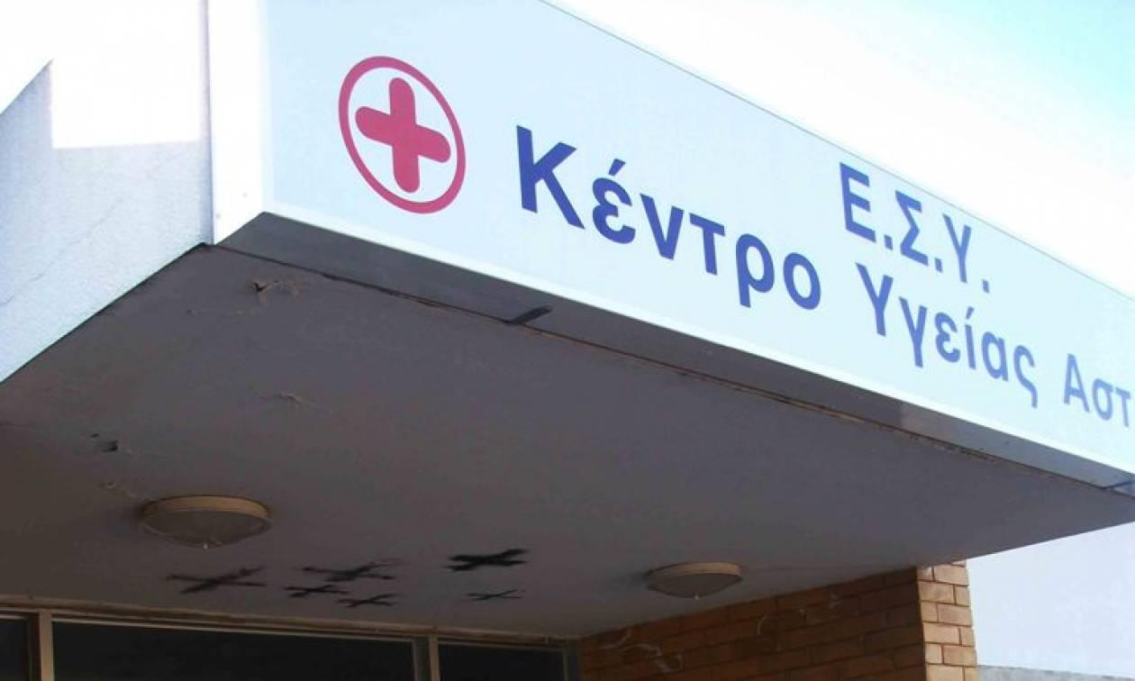 Έκτακτη χρηματοδότηση 1 εκατ. ευρώ σε νοσοκομεία και Κέντρα Υγείας