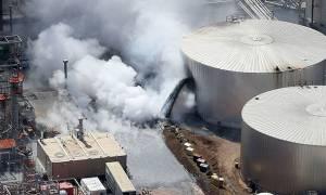 Συναγερμός στις ΗΠΑ: Ισχυρή έκρηξη σε διυλιστήριο πετρελαίου - «Αρκετοί τραυματίες» (Vid)
