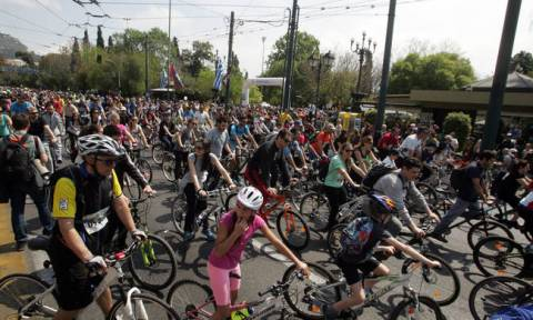 25ος Ποδηλατικός Γύρος: Κλειστό το κέντρο την Κυριακή - Αυτές είναι οι κυκλοφοριακές ρυθμίσεις