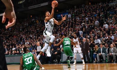 NBA: Ο Αντετοκούνμπο κράτησε ζωντανά τα «Ελάφια» (vid)