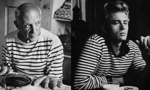 Τα μπλουζάκια του Picasso και του James Dean συνεχίζουν να πουλάνε τρελά! (pic)