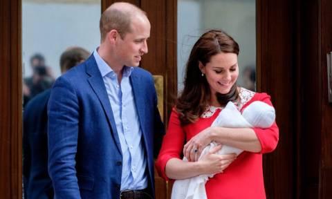 Βρετανία: Ανακοινώθηκε το όνομα του μικρού πρίγκιπα