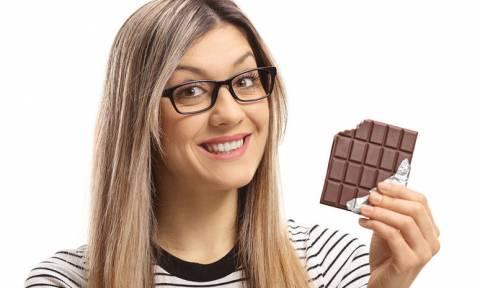 Μαύρη σοκολάτα: Τα οφέλη της για την όραση