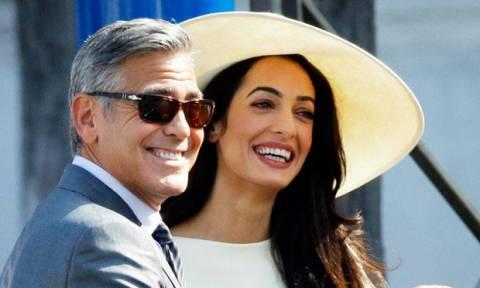 George-Amal Clooney: Η πρώτη φωτογραφία των διδύμων τους…δεν είναι ακριβώς φωτογραφία
