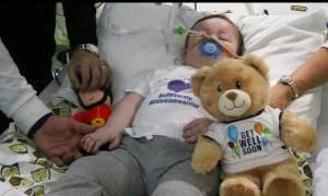 Μεγάλη Βρετανία: Θρήνος για τον μικρό Άλφι - Έχασε τη μάχη για τη ζωή
