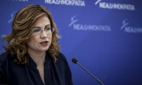 Σπυράκη: Ανίκανη η κυβέρνηση, φοβάται τις εκλογές