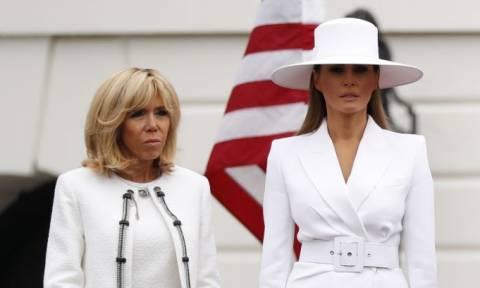 Αποκαλύψεις ΣΟΚ της Μπριζίτ Μακρόν για τη Μελάνια Τραμπ: Την κρατούν «φυλακισμένη» στο Λευκό Οίκo!