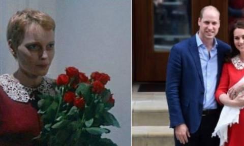 Η ανατριχιαστική ομοιότητα της Κέιτ Μίντλετον με το… «Μωρό της Ρόζμαρι» (pics)