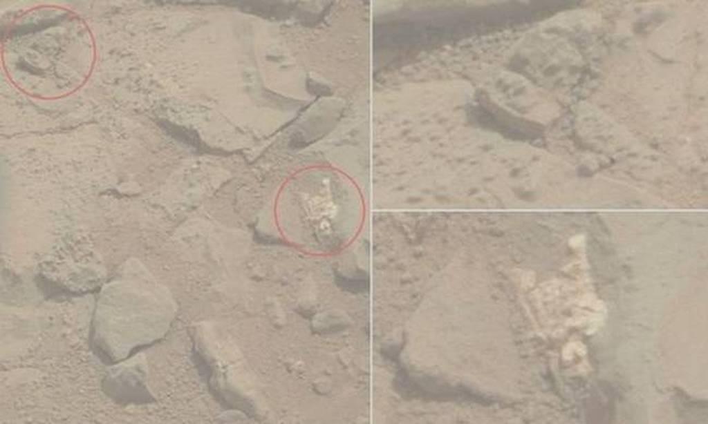 Είδηση - βόμβα: Ανακάλυψαν το κεφάλι ενός πολεμιστή στον πλανήτη Άρη; Δείτε φωτογραφίες και βίντεο
