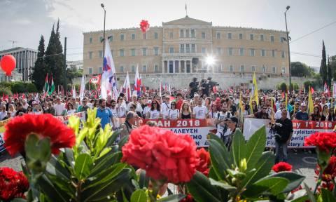 Πρωτομαγιά 2018: Με συγκεντρώσεις και πορείες τιμήθηκε η ημέρα σε όλη την Ελλάδα (pics)