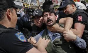 Χούντα Ερντογάν - Πρωτομαγιά: 84 συλλήψεις στην Κωνσταντινούπολη γιατί τόλμησαν να διαδηλώσουν (Vid)