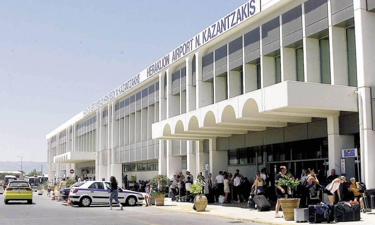 Μπαράζ συλλήψεων στο αεροδρόμιο Ηρακλείου