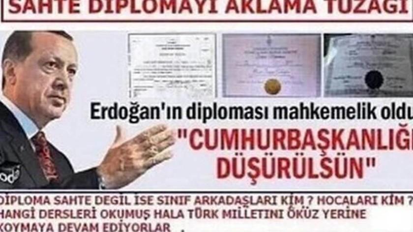 «Βόμβα» στην Τουρκία: Χαμός με το «μαϊμού» πτυχίο του Ερντογάν – Θα ακυρώσει τις εκλογές;