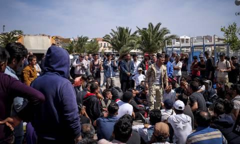 «Αστακός» η Μυτιλήνη εν όψει της άφιξης του Αλέξη Τσίπρα