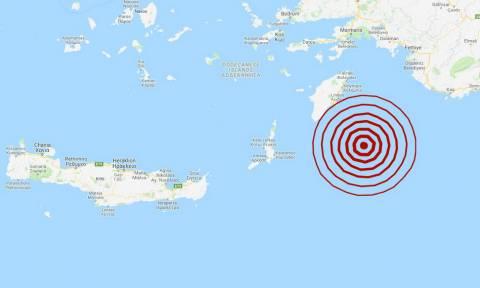 Σεισμός νότια της Ρόδου - Αισθητός σε αρκετές περιοχές (pics)
