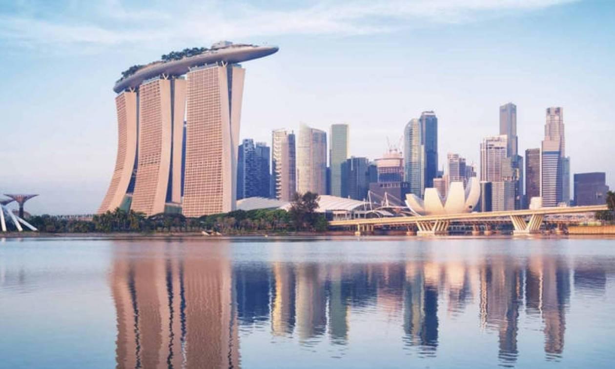 ζευγάρι ραντεβού στη Σιγκαπούρη