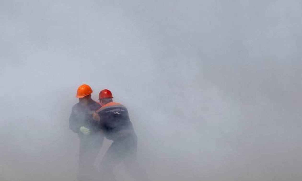 Μεγάλη φωτιά σε αποθήκη πυρομαχικών στην Ουκρανία