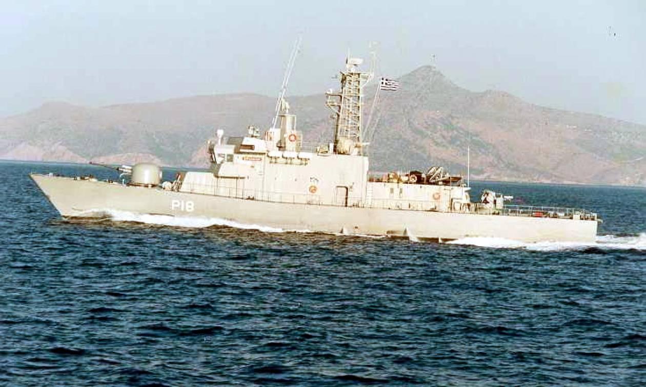 Συναγερμός στο Αιγαίο: Τουρκικό εμπορικό πλοίο «ακούμπησε» την κανονιοφόρο Αρματωλός