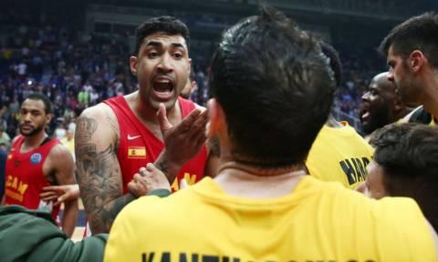 Basketball Champions League: Πήγε να πέσει ξύλο στο τέλος του ΑΕΚ - Μούρθια (vid)