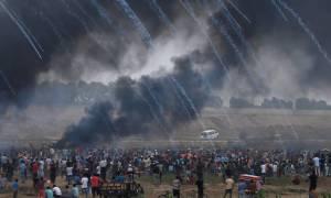Δεκάδες τραυματίες από τις νέες συγκρούσεις στη Λωρίδα της Γάζας