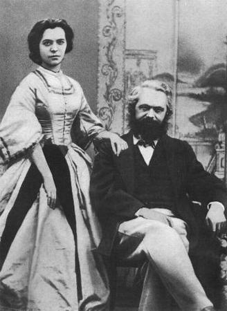 Karl and jenny marx 1866