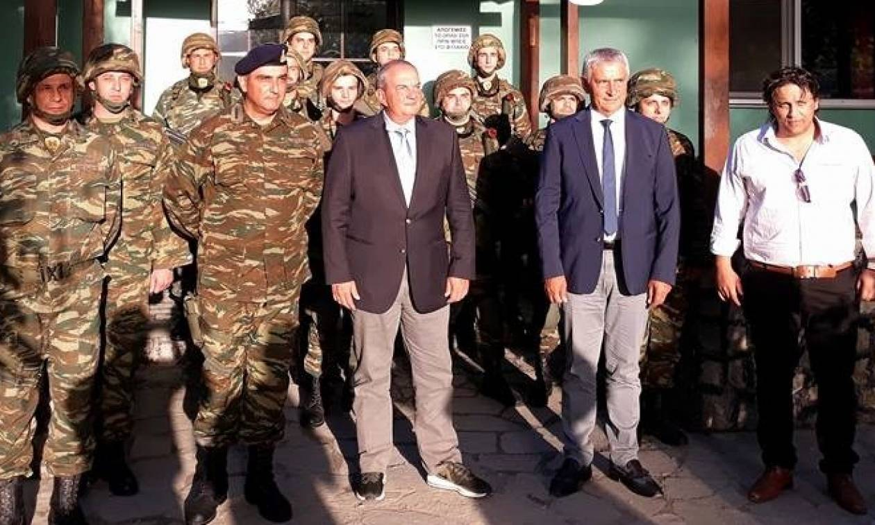 Στον Έβρο ο Κώστας Καραμανλής: Στα ελληνοτουρκικά σύνορα ο πρώην πρωθυπουργός (pics)