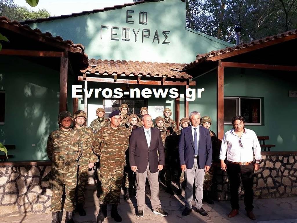 Στον Έβρο ο Κώστας Καραμανλής: Η επίσκεψη του πρώην πρωθυπουργού στα ελληνοτουρκικά σύνορα (pics)