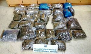 Νέες συλλήψεις για το κύκλωμα με τα 22 κιλά ακατέργαστης κάνναβης