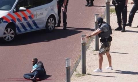 Επίθεση με άρωμα ISIS στη Χάγη: Η στιγμή της σύλληψης του δράστη με πυροβολισμούς (vid)