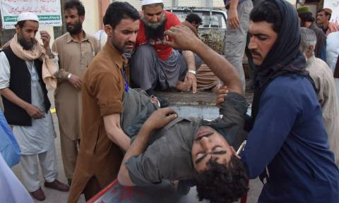 Τραγωδία στο Πακιστάν: 16 νεκροί από κατάρρευση ανθρακωρυχείου (pics)