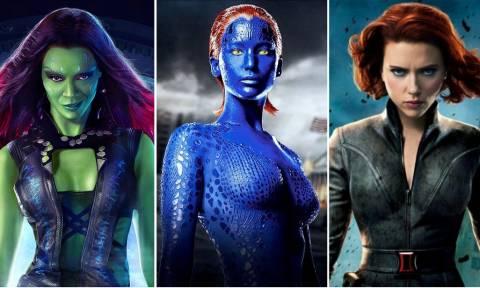 Πόσο ΚΑΥΤΕΣ είναι οι γυναικάρες της Marvel! (pics)