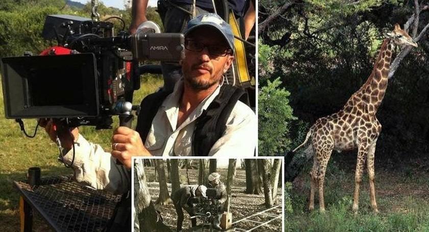 Σοκ: Βραβευμένος σκηνοθέτης σκοτώθηκε από καμηλοπάρδαλη