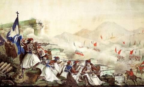 Σαν σήμερα το 1821 σημειώθηκε η μάχη της Γραβιάς