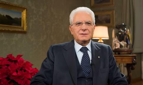 Ραγδαίες εξελίξεις στην Ιταλία: Έκτακτο τηλεοπτικό διάγγελμα του πρόεδρου της Δημοκρατίας