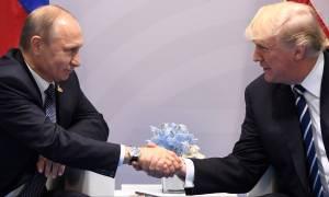 Συγχαρητήριο τηλεφώνημα Τραμπ σε Πούτιν