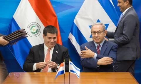 Η Παραγουάη στο δρόμο των ΗΠΑ - Θα μεταφέρει την πρεσβεία της στην Ιερουσαλήμ