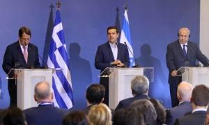 Τριμερής Ελλάδας - Κύπρου - Ισραήλ: Ο Τσίπρας σφραγίζει τη μεγάλη συμμαχία στα ενεργειακά
