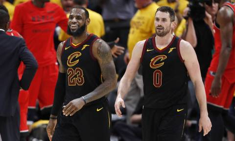 NBA: Έβγαλαν σκούπα οι Καβαλίερς (vid)