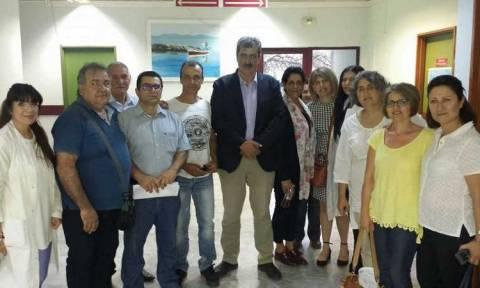 Πολάκης: Νέο Κέντρο Υγείας στον Μανταμάδο και Πολυδύναμο Ιατρείο στην Αγιάσο