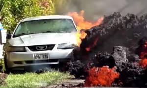 Πύρινη κόλαση στη Χαβάη: H λάβα από το ηφαίστειο Κιλαουέα καταπίνει τα πάντα στο διάβα της (Pics)