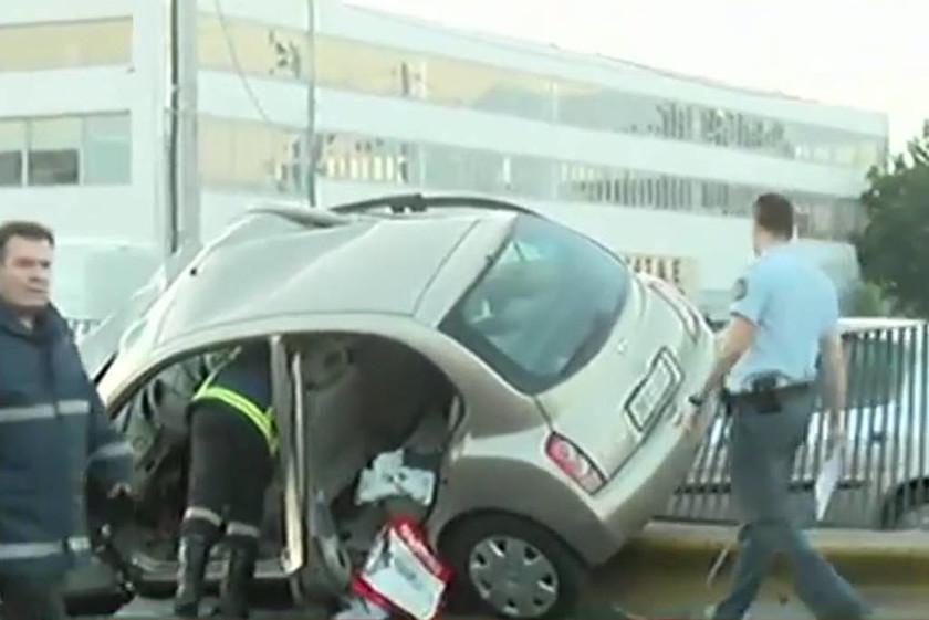 Θανατηφόρο τροχαίο στον Κηφισό - Νταλίκα παρέσυρε δύο οχήματα