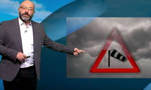 Η έκτακτη προειδοποίηση του Σάκη Αρναούτογλου για ισχυρές καταιγίδες την Πέμπτη (photo)