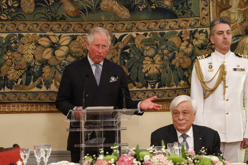 Ηχηρό μήνυμα Παυλόπουλου σε Κάρολο: Πιστεύουμε ότι η επιστροφή των Γλυπτών του Παρθενώνα θα ευοδωθεί