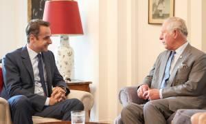 Συνάντηση Μητσοτάκη με τον πρίγκιπα Κάρολο: Τι συζητήθηκε