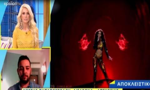 Eurovision 2018: Η Καινούργιου την είδε Φουρέιρα – Δε φαντάζεστε τι κάνει για να της μοιάσει