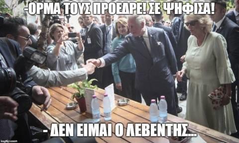 Δάκρυα μέχρι λιποθυμίας: Η βόλτα του Καρόλου στην Αθήνα μέσα σε 10 memes!