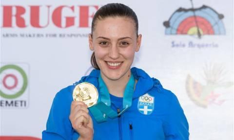 Παγκόσμιο Κύπελλο: Xάλκινο μετάλλιο για την Άννα Κορακάκη στα 25 μέτρα με αεροβόλο πιστόλι