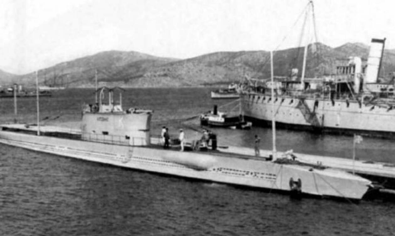Υποβρύχιο Κατσώνης: Εντοπίστηκε το ιστορικό ναυάγιο 75 χρόνια μετά (video)