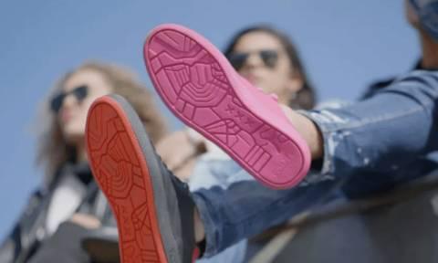 Τι άλλο θα σκεφτούν! Δείτε τα πρώτα παπούτσια φτιαγμένα από… τσίχλες (Vid)